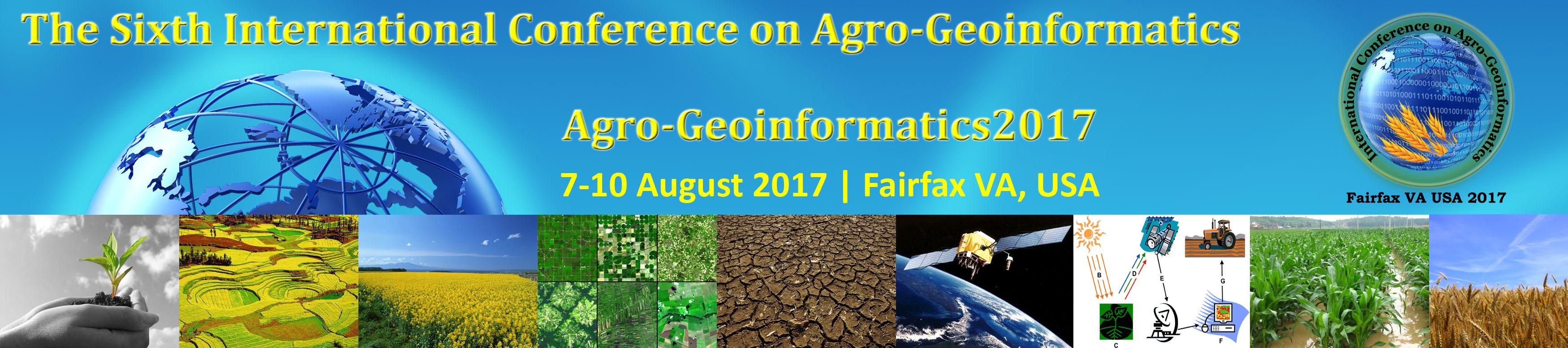 Agro-Geoinformatics 2017